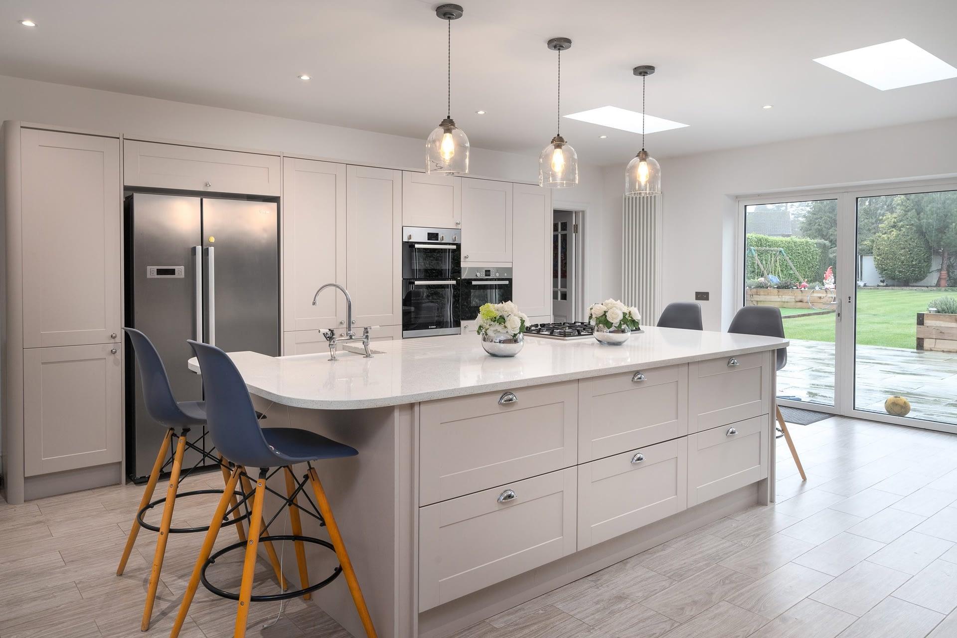 Luxury modern kitchen in Buckinghamshire